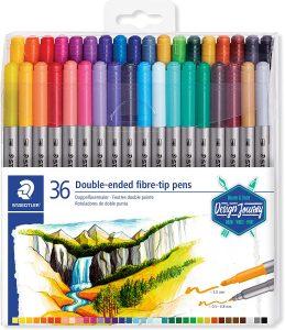 Estuche de rotuladores de colores de Staedtler de 36 unidades - Los mejores estuches de rotuladores de colores que comprar por internet - Mejores rotuladores de colores online