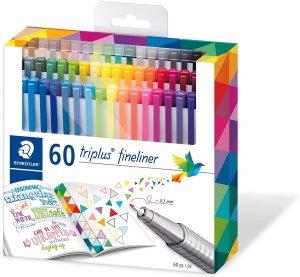 Estuche de rotuladores de colores de Staedtler de 60 unidades - Los mejores estuches de rotuladores de colores que comprar por internet - Mejores rotuladores de colores online