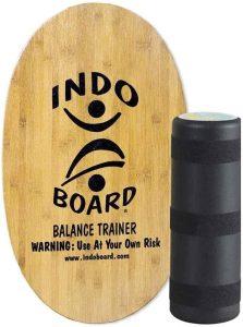 Indoboard Indo Board Original - Tabla de Equilibrio Balance Trainer con Rodillo y Cojín - Los mejores indoboard para surfear que comprar por internet - Comprar el mejor indoboard del mercado para surf