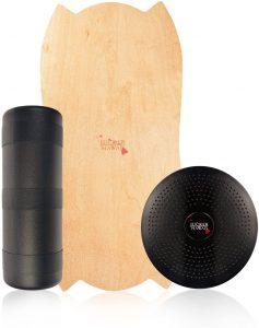 Indoboard JUCKER HAWAII 4 - Tabla de Equilibrio Balance Trainer con Rodillo y Cojín - Los mejores indoboard para surfear que comprar por internet - Comprar el mejor indoboard del mercado para surf