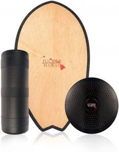Indoboard JUCKER HAWAII - Tabla de Equilibrio Balance Trainer con Rodillo y Cojín - Los mejores indoboard para surfear que comprar por internet - Comprar el mejor indoboard del mercado para surf