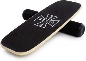 Indoboard N&M Products - Tabla de Equilibrio Balance Trainer con Rodillo y Cojín - Los mejores indoboard para surfear que comprar por internet - Comprar el mejor indoboard del mercado para surf