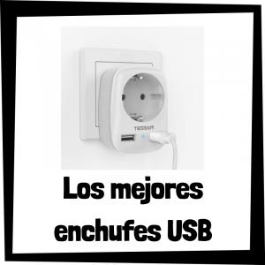 Los mejores enchufes USB del mercado