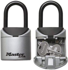 MASTER LOCK Caja fuerte para llaves Mini - Los mejores candados de seguridad para las llaves que comprar por internet - Comprar el mejor candado para surf