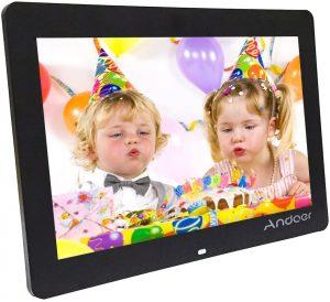 Marco para fotos digital Smart Photo Frame Andoer - Los mejores marcos digitales que comprar por internet - Comprar el mejor marco digital del mercado