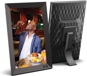 Marco para fotos digital Smart Photo Frame Nix - Los mejores marcos digitales que comprar por internet - Comprar el mejor marco digital del mercado