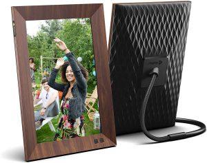 Marco para fotos digital Smart Photo Frame Nixplay 10 pulgadas - Los mejores marcos digitales que comprar por internet - Comprar el mejor marco digital del mercado