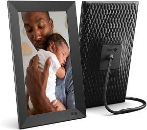 Marco para fotos digital Smart Photo Frame Nixplay 13 pulgadas - Los mejores marcos digitales que comprar por internet - Comprar el mejor marco digital del mercado