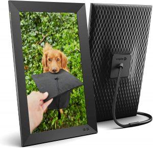 Marco para fotos digital Smart Photo Frame Nixplay 15 pulgadas - Los mejores marcos digitales que comprar por internet - Comprar el mejor marco digital del mercado