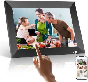 Marco para fotos digital Smart Photo Frame Podoor - Los mejores marcos digitales que comprar por internet - Comprar el mejor marco digital del mercado