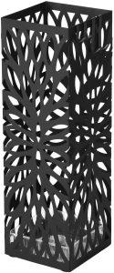 Paragüero Cilíndrico Songmics en negro - Los mejores paragüeros que comprar por internet - Mejores paragüeros del mercado