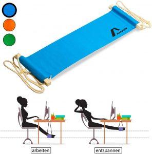 Reposapiés colgante de Amazy - Los mejores reposapiés para casa que comprar por internet - Mejores reposapiés de oficina online - Soporte para pies ajustable - Apoya pies ergonómico