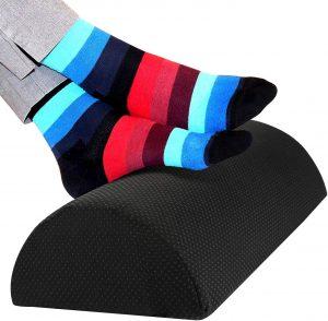 Reposapiés de Guiffly para casa - Los mejores reposapiés para casa que comprar por internet - Mejores reposapiés de oficina online - Soporte para pies ajustable - Apoya pies ergonómico