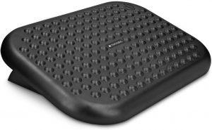 Reposapiés de Navaris - Los mejores reposapiés para casa que comprar por internet - Mejores reposapiés de oficina online - Soporte para pies ajustable - Apoya pies ergonómico