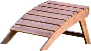 Reposapiés de madera - Los mejores reposapiés para casa que comprar por internet - Mejores reposapiés de oficina online - Soporte para pies ajustable - Apoya pies ergonómico