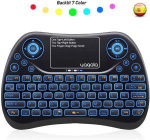 Teclado inalámbrico con touchpad Yagala - Los mejores teclados inalámbricos para el ordenador que comprar por internet - Comprar el mejor teclado inalámbrico
