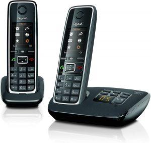 Teléfono Fijo Inalámbrico Gigaset C530A - Los mejores teléfonos fijos inalámbricos que comprar por internet - Mejor teléfono fijo inalámbrico del mercado