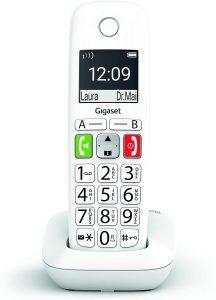 Teléfono Fijo Inalámbrico Gigaset E290 de teclas grandes - Los mejores teléfonos fijos inalámbricos que comprar por internet - Mejor teléfono fijo inalámbrico del mercado
