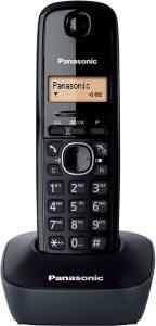 Teléfono Fijo Inalámbrico Panasonic KX-TG1611SPH - Los mejores teléfonos fijos inalámbricos que comprar por internet - Mejor teléfono fijo inalámbrico del mercado