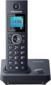 Teléfono Fijo Inalámbrico Panasonic KX-TG7851 - Los mejores teléfonos fijos inalámbricos que comprar por internet - Mejor teléfono fijo inalámbrico del mercado