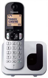 Teléfono Fijo Inalámbrico Panasonic KX-TGC210 - Los mejores teléfonos fijos inalámbricos que comprar por internet - Mejor teléfono fijo inalámbrico del mercado