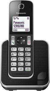 Teléfono Fijo Inalámbrico Panasonic KX-TGD310 - Los mejores teléfonos fijos inalámbricos que comprar por internet - Mejor teléfono fijo inalámbrico del mercado