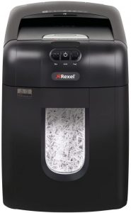 Trituradora de corte cruzado Rexel hasta 130 hojas - Las mejores trituradoras de papel que comprar por internet