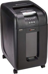 Trituradora de corte cruzado Rexel hasta 300 hojas - Las mejores trituradoras de papel que comprar por internet