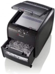 Trituradora de corte cruzado Rexel hasta 60 hojas - Las mejores trituradoras de papel que comprar por internet