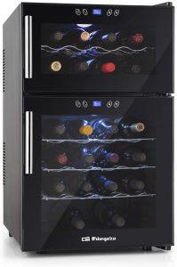 Vinoteca Orbegozo VT 2410 de 24 botellas - Las mejores vinotecas que comprar por internet - Mejor vinoteca pequeña del mercado
