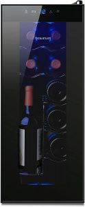 Vinoteca Taurus PTWC-12 de 18 botellas - Las mejores vinotecas que comprar por internet - Mejor vinoteca pequeña del mercado