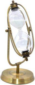 Reloj de Arena de 60 minutos con estructura - Los mejores relojes de arena del mercado - Relojes de arena