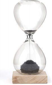 Reloj de Arena magnético de 1 minutos - Los mejores relojes de arena del mercado - Relojes de arena