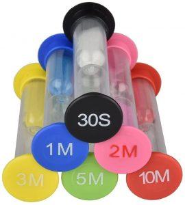 Set de 6 relojes de arena - Los mejores relojes de arena del mercado - Relojes de arena
