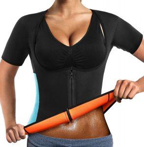 Camiseta reductora quemagrasas de LaLaAreal para mujeres - Las mejores camisetas quemagrasas del mercado 2 - Camisetas de sudoración