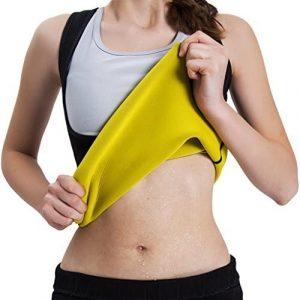Camiseta reductora quemagrasas de NHEIMA para mujeres - Las mejores camisetas quemagrasas del mercado - Camisetas de sudoración
