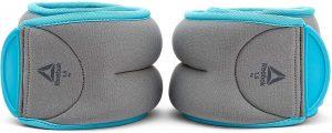 Pesos para el tobillo de Reebok - Los mejores pesos para el tobillo del mercado - Tobilleras ajustables de peso