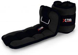 Pesos para el tobillo de XN8 - Los mejores pesos para el tobillo del mercado - Tobilleras ajustables de peso