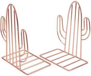 Sujetalibros de KETIEE de cactus. Los mejores sujetalibros