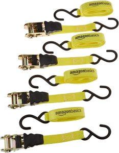 Cinchas de amarre de Amazon Basics. Las mejores cinchas de amarre del mercado