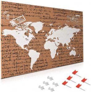Tablero de corcho con mapa de Navaris 2 - Los mejores tableros de corcho