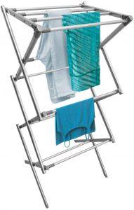 Tendedero vertical de interior de mDesign - Los mejores tendederos del mercado